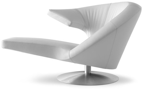 parabolica rotating chair 1 Rotating Chair Parabolica   armrest chair from Leolux