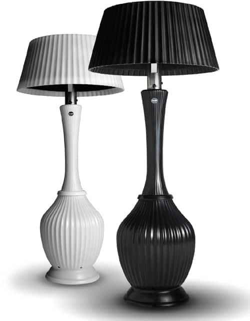 patio heater lamps by kindle living. Black Bedroom Furniture Sets. Home Design Ideas