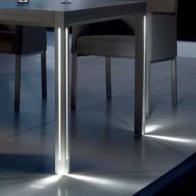 Patio Table with Lights – Luna by Manutti