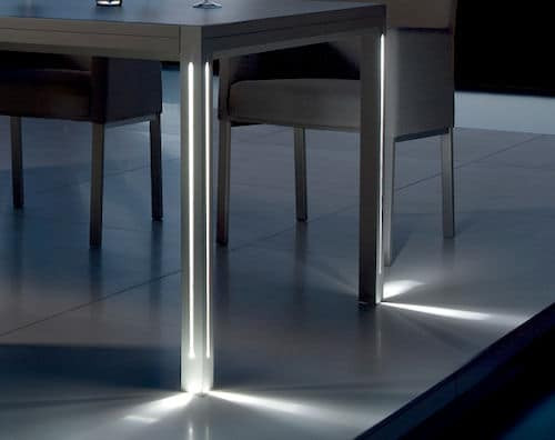 patio table with lights luna manutti 2 Patio Table with Lights   Luna by Manutti
