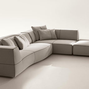 Patricia Urquiliola Bend Sofa by B&B Italia – new for 2010
