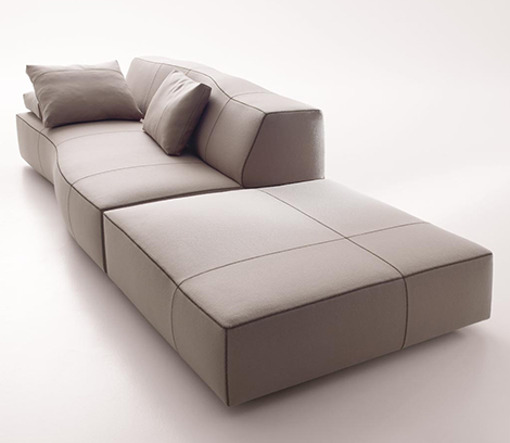 patricia urquiliola bend sofa bb italia 2 Patricia Urquiliola Bend Sofa by B&B Italia   new for 2010