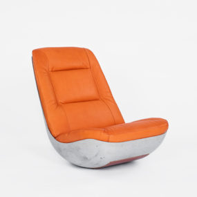 World's First Concrete Rocking Chair