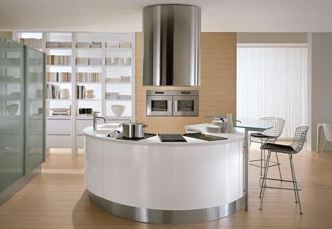Pedini Artika Round Island Kitchen Artika And Integra Round Kitchens From  Pedini The Trend Is Now