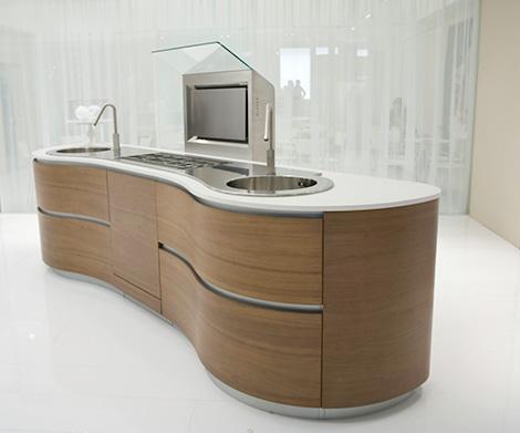 pedini dune kitchen island