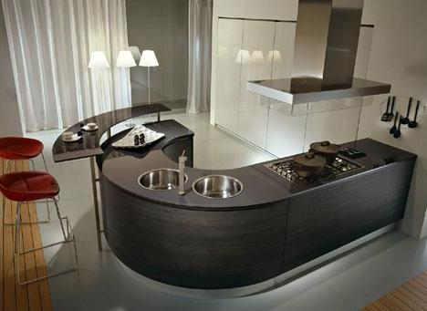 pedini integra round kitchen