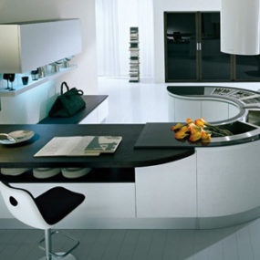 Pedini Kitchen – new Integra U-shape kitchen