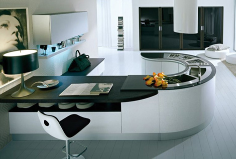 pedini kitchen integra 1 Pedini Kitchen   new Integra U shape kitchen