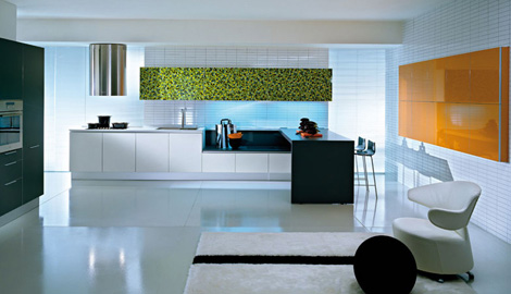 Pedini Q2 Kitchen New Q2system Kitchen Glass And Wood Decor