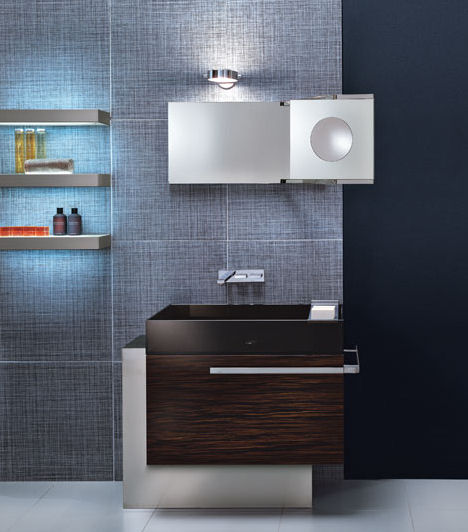 Bathroom vanities trend 2007 the european contemporary vanity style is in - Contemporary european designer bathroom vanities ...