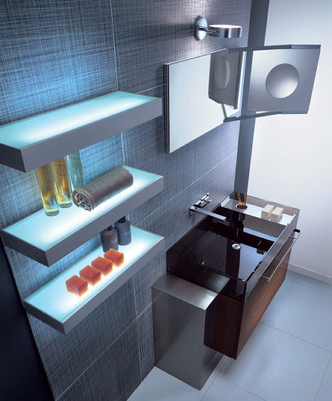 pendini trendy bathroom vanity Contemporary bathrooms from Pendini   the Trendy bathroom collection