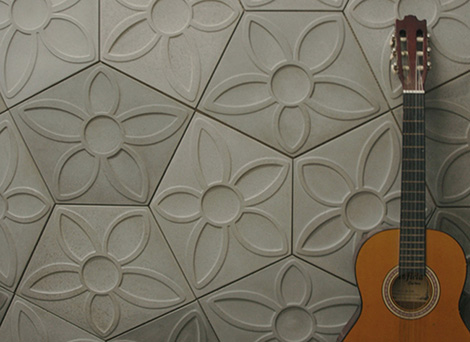 pentagon tiles ogassian 1 Pentagon Tiles by Ogassian   ultra contemporary and 3d