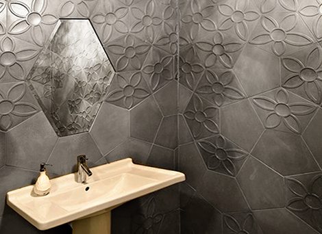 pentagon tiles ogassian 2 Pentagon Tiles by Ogassian   ultra contemporary and 3d