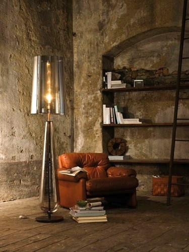 pentalight lamp terra 2 Oversized Glass Floor Lamps by Pentalight   Beautiful and Flawless