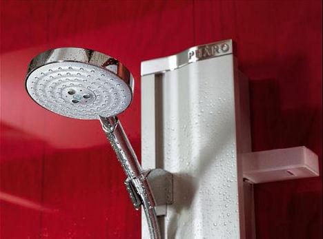 pharo showerpanel sideway raindance air New Pharo Showerpanel SideWay   a wall mounting shower panel