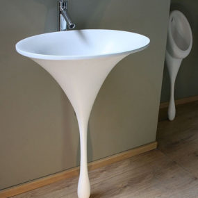 Spoon Sink – modern bathroom sinks by Philip Watts Design