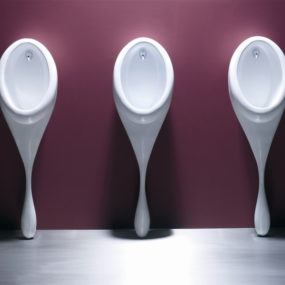 Spoon Urinal by Philip Watts