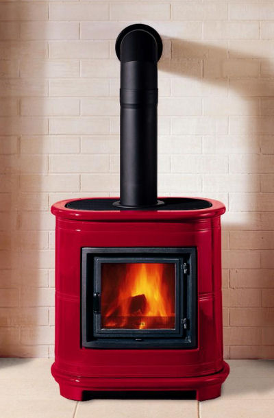 piazzetta e905 wood stove Piazzetta Wood Stove E905 by Robeys   compact wood stoves