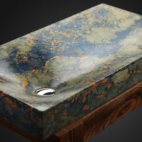 Handcrafted Concrete Sinks from Pietra Danzare