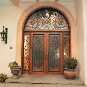 Hand Wrought Iron Door by Pinecrest – the Manorgate fine door collection