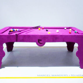 Pink Pool Table by Marcel Wanders – Alcantara