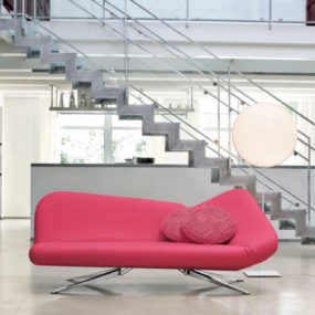Pink Sofa Bed by Bonaldo, 2011