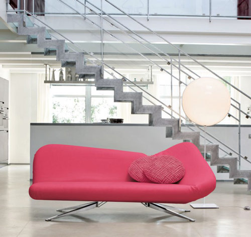 pink sofa bed bonaldo new 2011 1 Pink Sofa Bed by Bonaldo, 2011