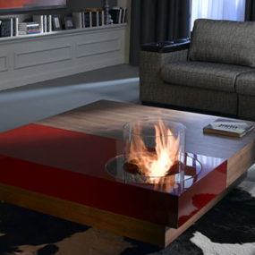 Modern Fireplaces from Planika – Architects Line Fires generate a warm welcome anywhere!