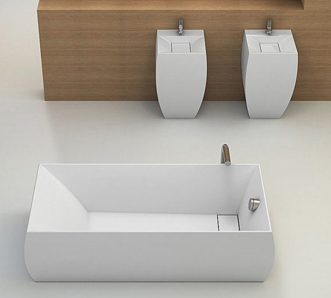 planit bathroom collection duna 1 Square Bathroom Suites by Planit – new Duna suite