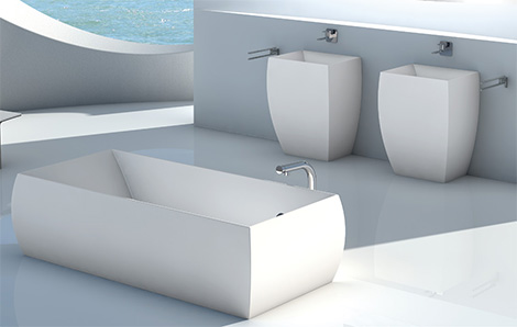 planit square bathroom suite duna Square Bathroom Suites by Planit – new Duna suite
