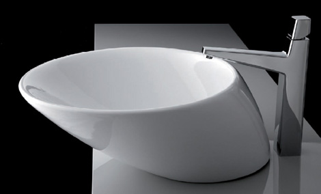plavisdesign sink net Modern Bathroom Fixtures from Plavis Design