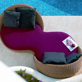 Outdoor Sofa from Point – Double Sofa New Atmosphera