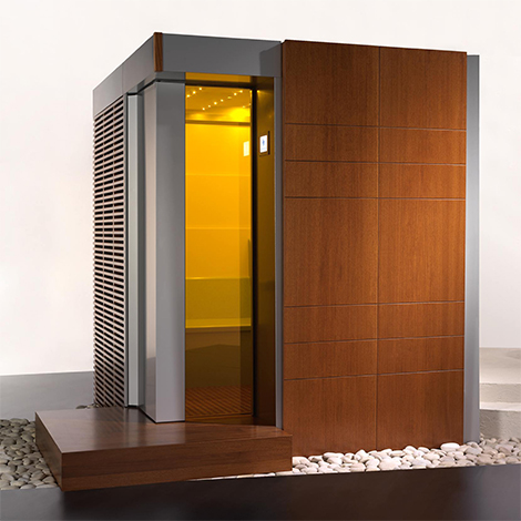 Spas Wellness Thermae home sauna