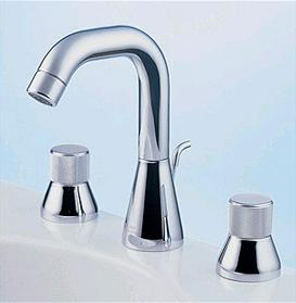 porcher marknewson lavatory faucet Marc Newson Faucets from Porcher   clean design