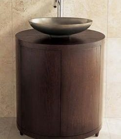 Ovale Vanity Cabinet from Porcher