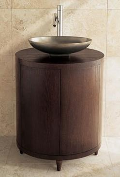 Porcher Ovale Cabinet Vanity From