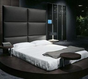 Presotto Zero Bed – a European luxury platform bed