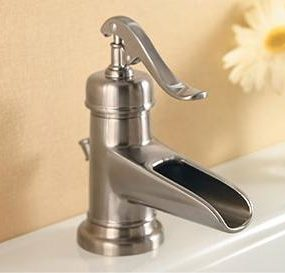 New Ashfield waterfall faucet from Price Pfister – vintage decor