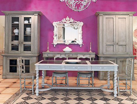 provence et fils ursuline covent table French country style   the timeless Dining Table Ursuline from Provence & Fils