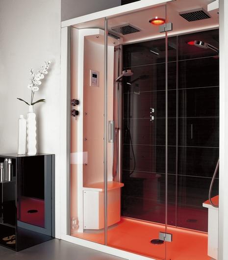puntoacqua shower cabin etros Shower cabins from Puntoacqua   style meets sensation