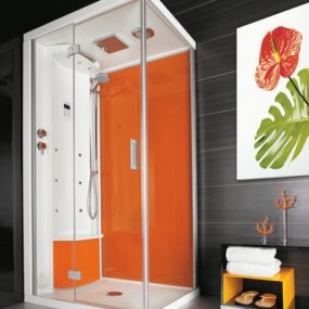 Shower cabins from Puntoacqua – style meets sensation