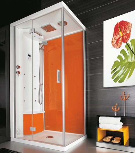 puntoacqua shower cabin ipno Shower cabins from Puntoacqua   style meets sensation