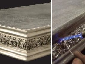 French Pewter Countertops by Purcell Murray – hand-made metal countertops