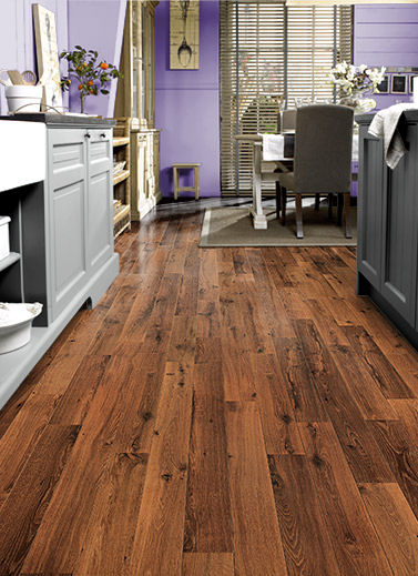 quick step vintage oak varnished flooring Vintage oak flooring from Quick Step   the dark varnished oak floor