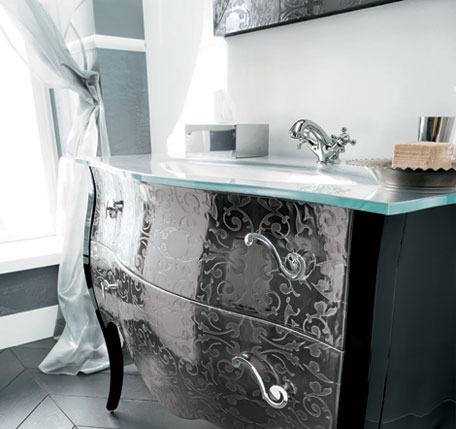 elegant vanity set by rab arredobagno - ideal for transitional ... - Arredo Bagno Rab