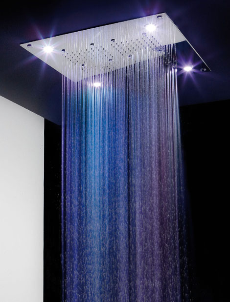 rain spa shower heads ib 3 Rain Spa Shower Heads   new head designs by iB Rubinetterie