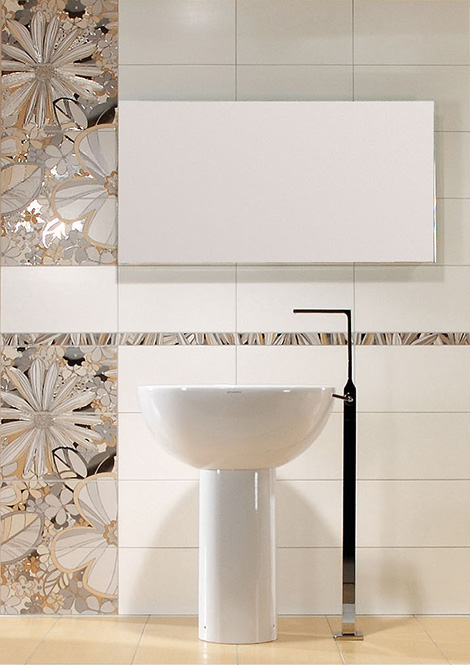 Rako tiles Botanica outline vanity