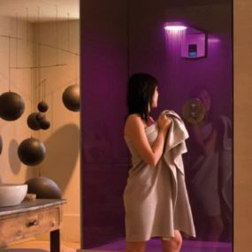 HydroChromotherapy Shower Hidrocrom from Ramon Soler – a private bathroom paradise