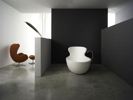 Rapsel Arne bathtub front view