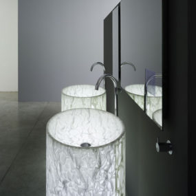 Modern Bathroom for the discerning – Rapsel Vision Washbasin and Arne Bathtub